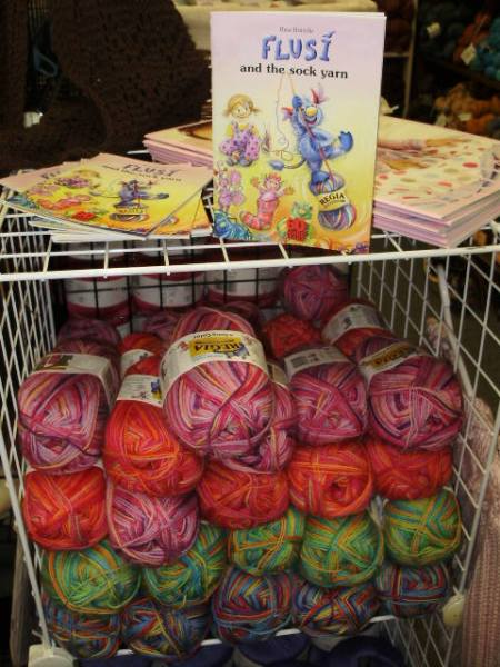 New kids sock yarn