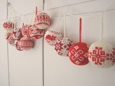 Christmas Knitted Ornaments Patterns Free Knitting And Crochet